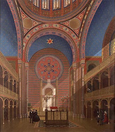 Interior Synagogue Glockengasse