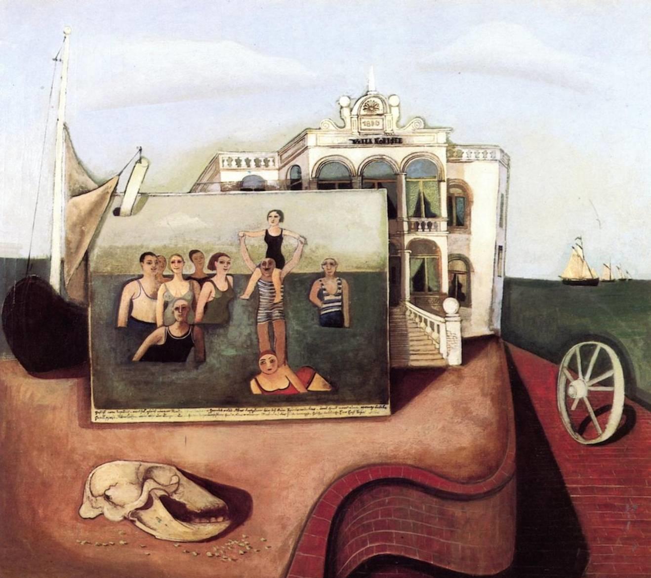 Felix Nussbaum Memory of Norderney