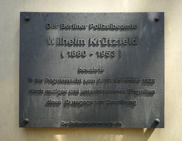 Memorial plaque Krützfeld