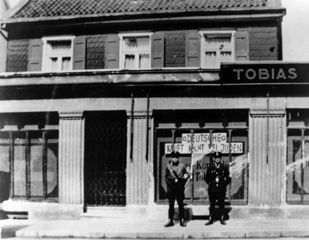 Albert Tobias men s clothing store
