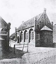 The synagogue on Norderney 1905