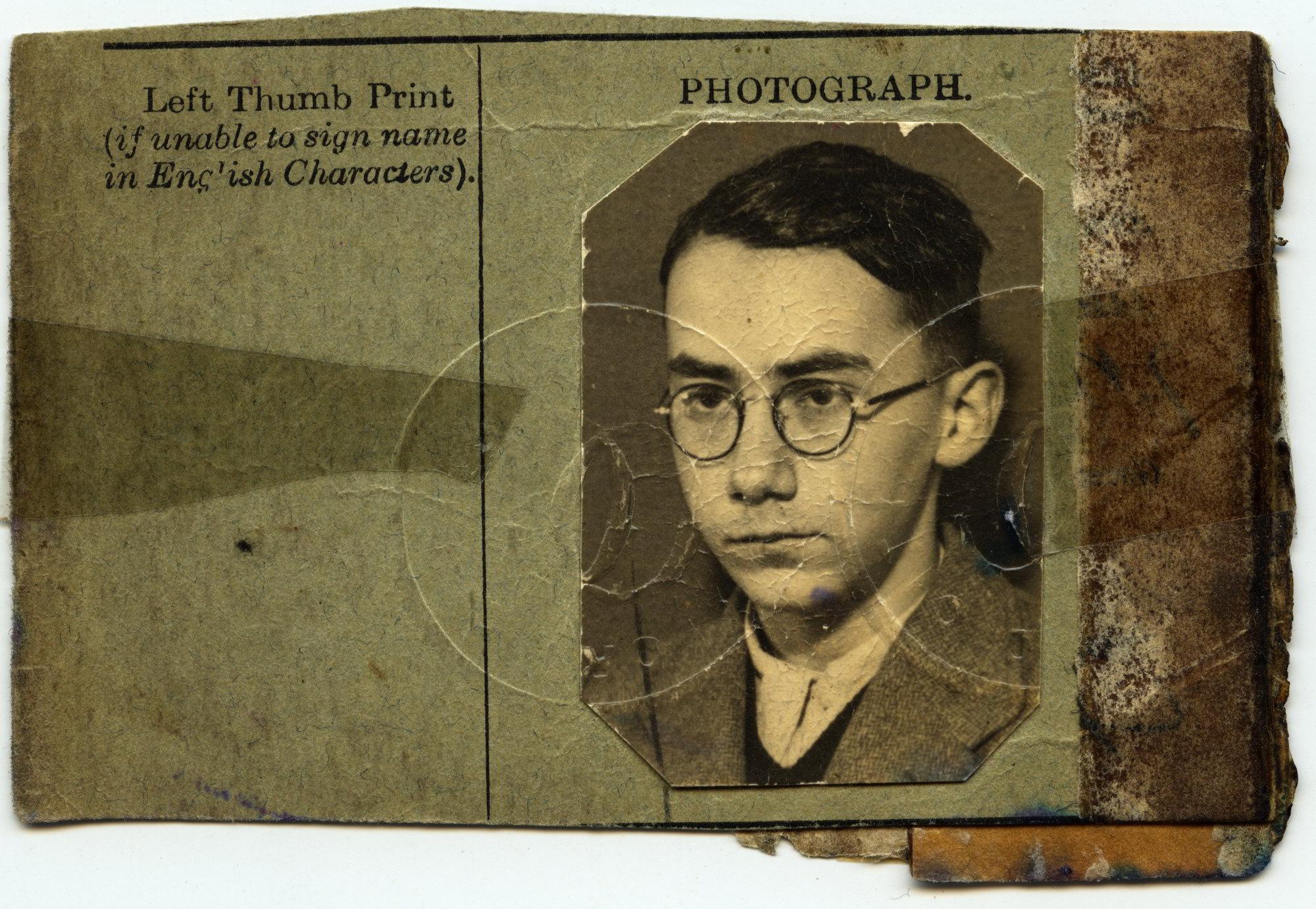 Passport Henry Gruen