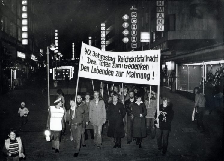 Silent protest 1978