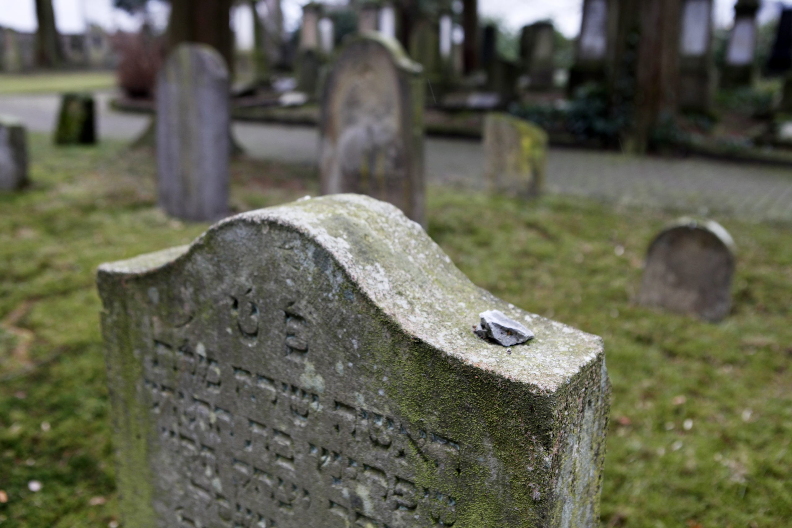 The oldest surviving tombstone