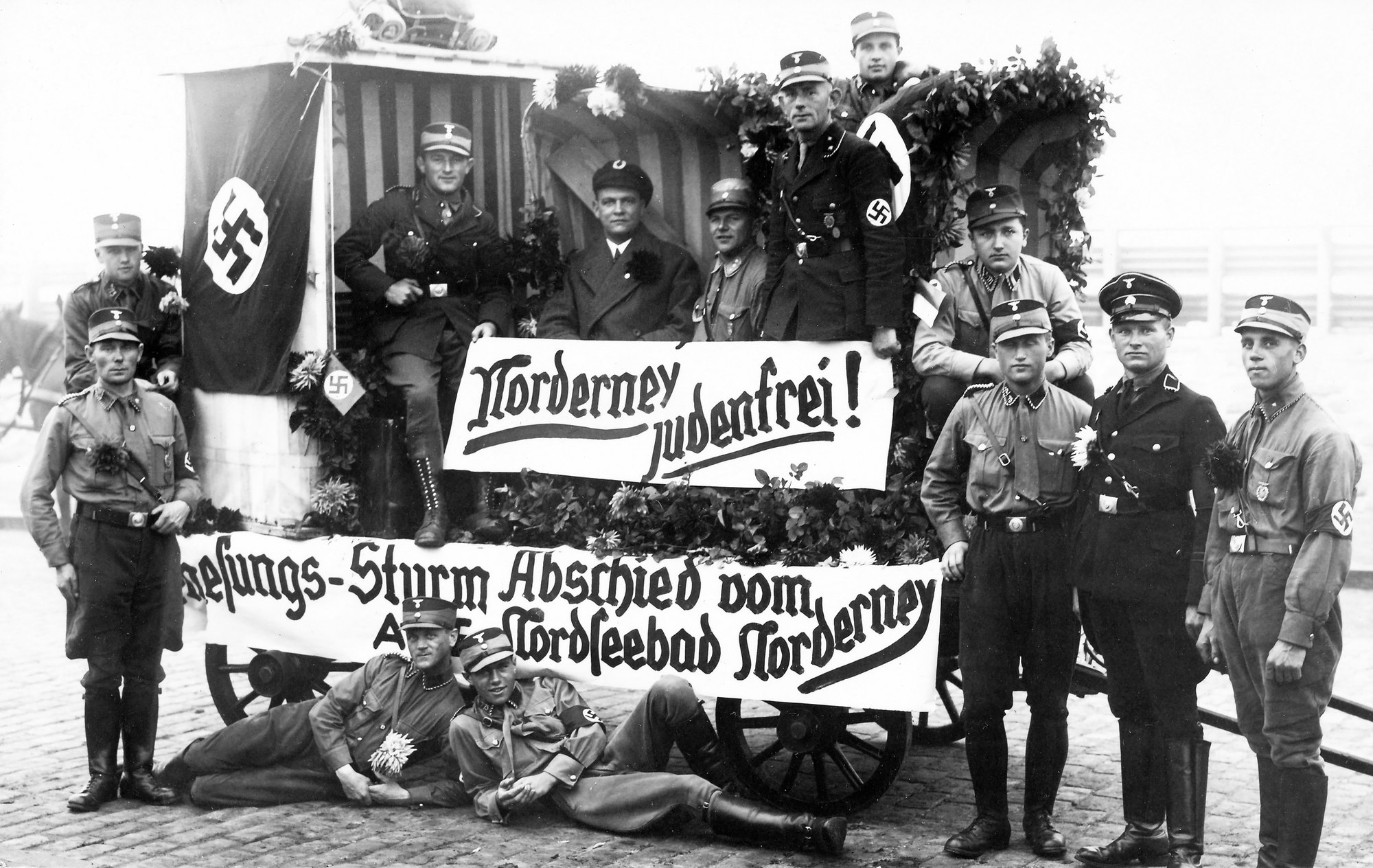 Norderney free of Jews