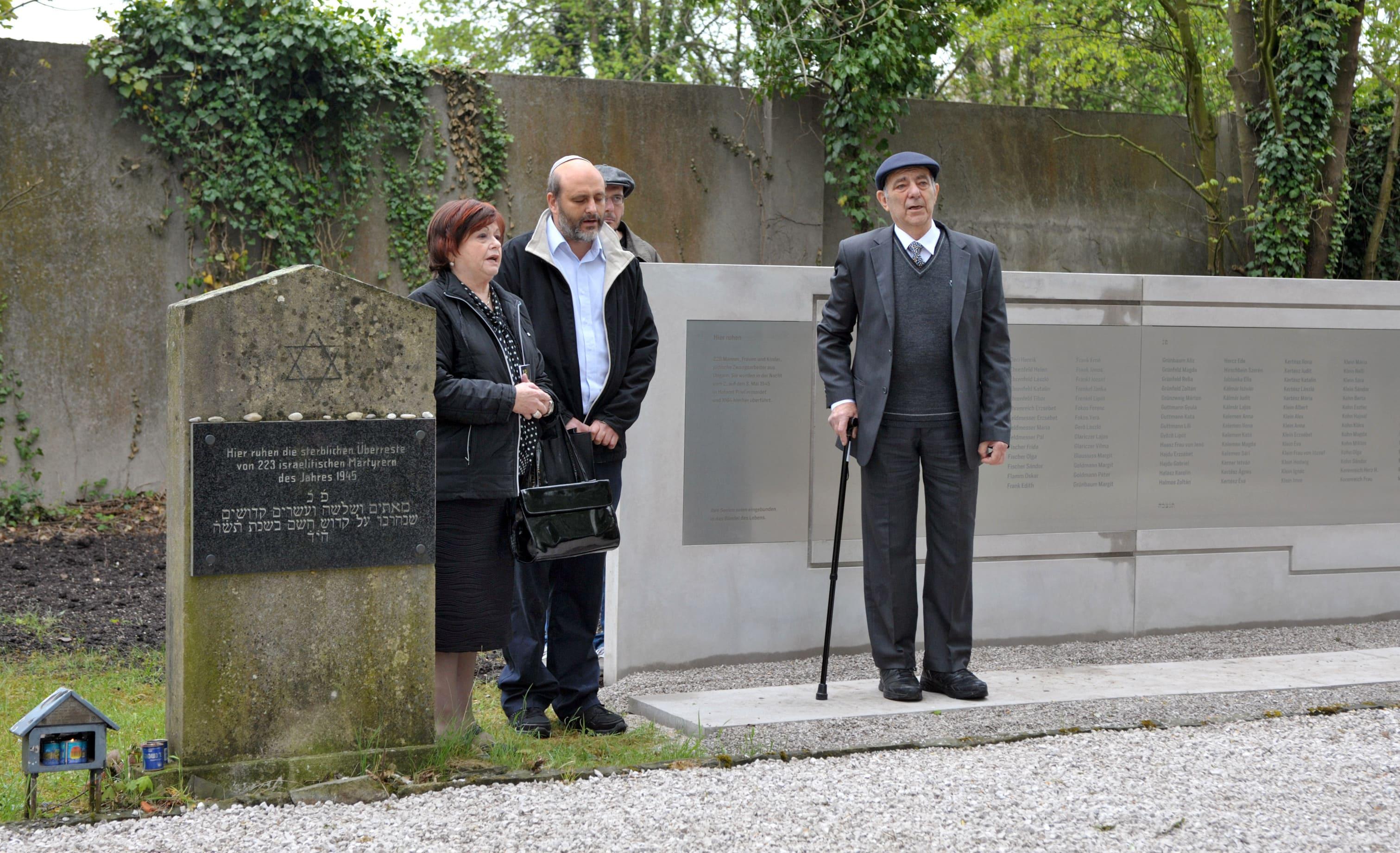 Elisheva Yair and Yakov Schwarcz