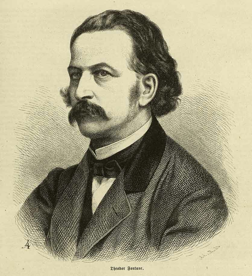 Theodor Fontane around the year 1860