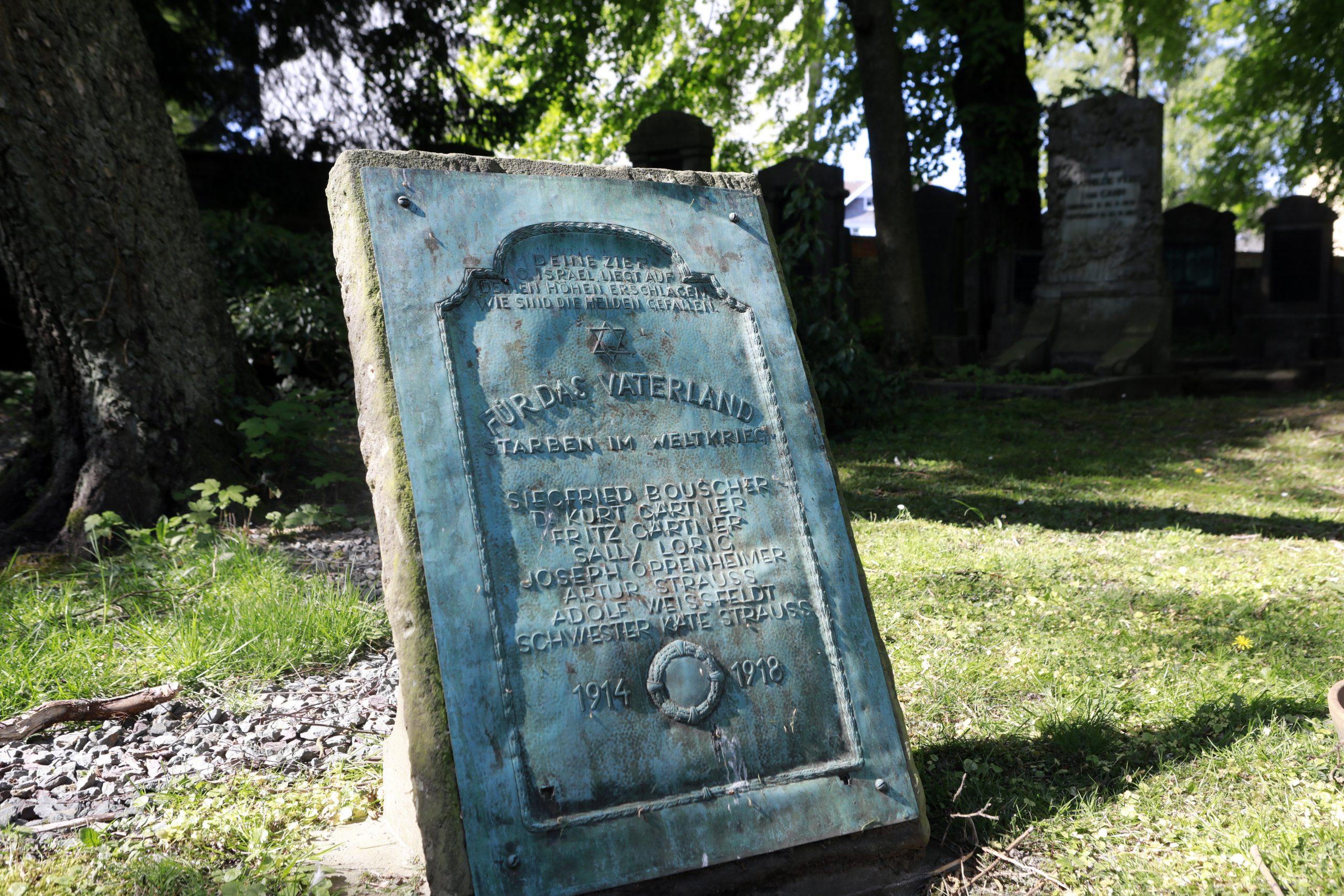 Memorial stone for the fallen