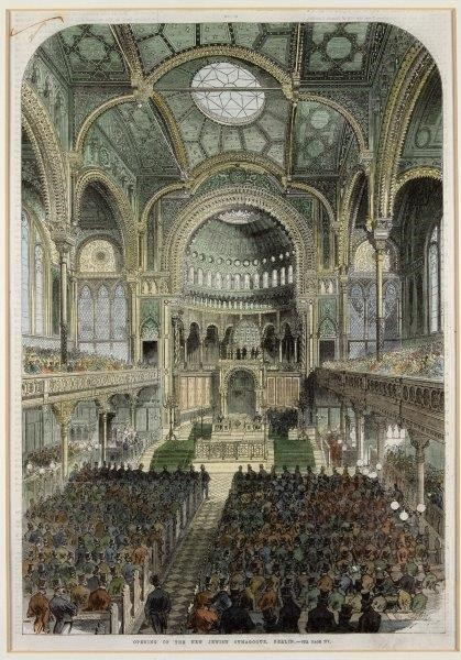 Inauguration of the New Synagogue Berlin