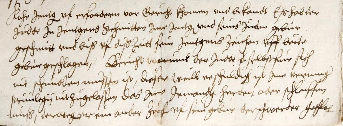 Minutes of the Schleifergericht