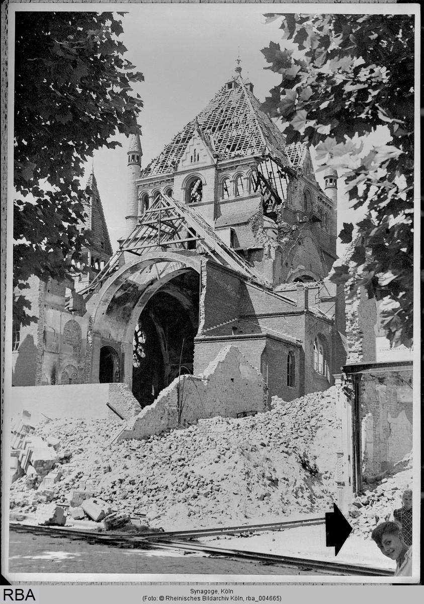 Ruins Synagogue Roonstraße